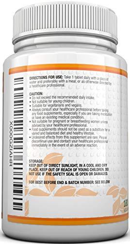 Vitamin C 1000mg 180 Tabletten (6 Monatsversorgung) von Nu U Nutrition - 6