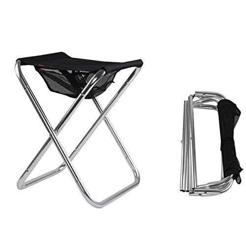 Silla Plegable Pesca, Ligero Picnic Silla Que acampa, Bolsa Plegable al Aire Libre Espesar portátil fácil Llevar Muebles de Exterior Nuevo