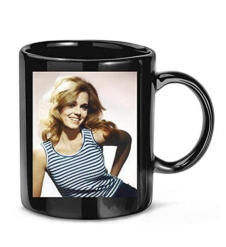 BIROTYMAKHI #Cat Ballou Movie #Jane Fonda Actress #Michael Callan Photo Coffee Mug for Women and Men Tea Cups