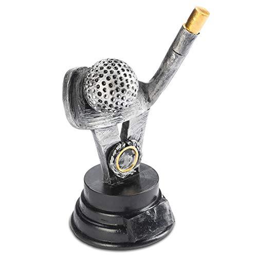 Goods & Gadgets Golf Pokal Winnaar Pok - Minigolf Winnaar Trofee 18cm Personaliseerbaar