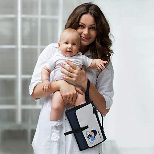 Crystal Baby Smile – Tragbare Wickelunterlage für Unterwegs - 5