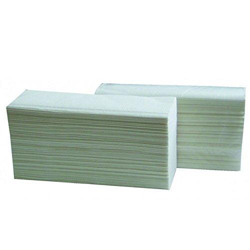 3750toallas microgaufrés plegadas en Z blanco 2X 20G/M²–2pliegues–24x 24cm–h256msm- Certificado Francia Medical industria