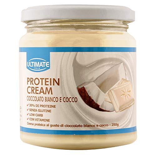 Ultimate Italia Protein Cream Cioccolato Bianco E Cocco 250 G