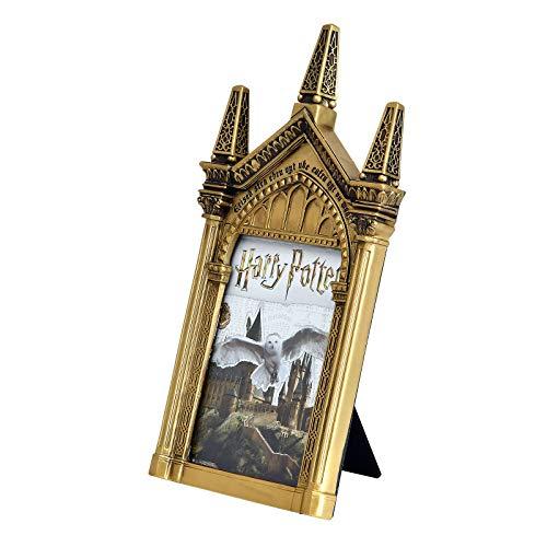 Elbenwald Harry Potter Bilderrahmen Spiegel Nerhegeb Resin 14,8 x 28,5 x 2,4 cm Gold