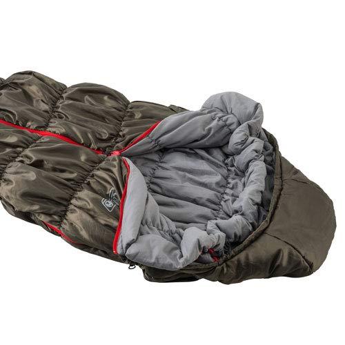 コールマン(Coleman)寝袋コルネットストレッチ2L0使用可能温度0度マミー型カーキ2000031104