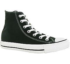 Converse Zapatillas Abotinadas All Star Hi Gris Oscuro EU 36.5 ...