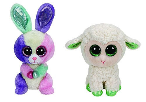 Ty Easter Beanie Boo Bloom And Lala Set by Ty Beanie Boos
