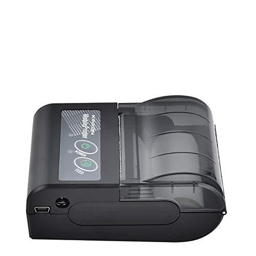 LBSX Imprimante d'étiquettes - Imprimante Thermique directe Bureau for Barcodes, étiquettes, Mailing, Expédition et Plus avec Mobile et Impression Tablet