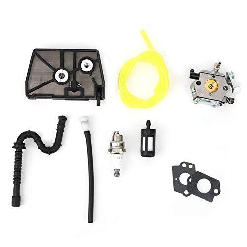 Kit de carburador Accesorio de motosierra Buena rigidez Carburador de motosierra ligero Carburador de aluminio fundido a presión portátil Kit de repuesto para motosierra Stihl 028