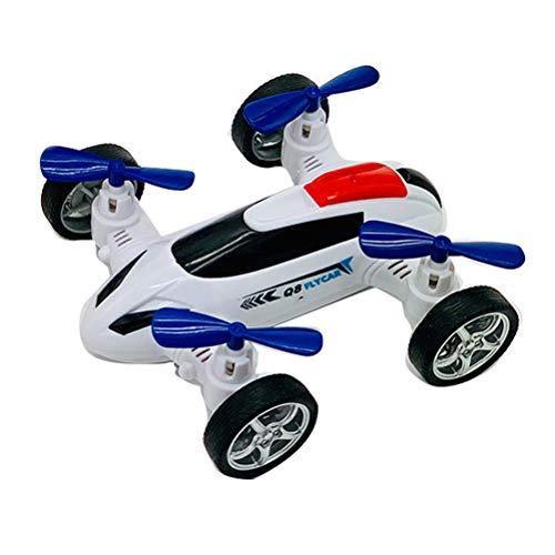 Drohne fliegendes Auto Spielzeug, Creamon Drohne fliegendes Auto Spielzeug Kinder Trägheit Spielzeugauto Plastikauto Modell Spielzeug weiß