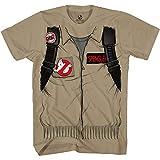 Ghostbuster Spengler Adult Short Sleeve Costume T-Shirt with Back Print