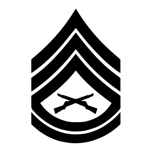 603679806af United States Marine Corps (USMC) Chevron Rank Insignia E-7 Gunnery Sergeant  GySgt
