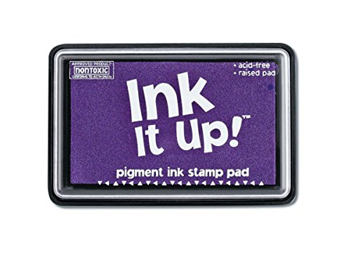 Darice, Pigment Ink Stamp Pad, Lavender, Purple
