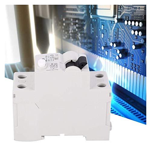 ghjk Interruptor de Fuga, GYL9 25/40 / Dispositivo 63A 2P 230V AC Interruptor diferencial de protección de Fuga