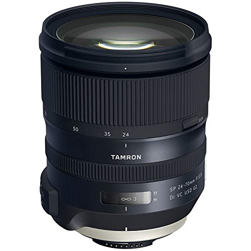 Tamron SP 24-70mm F/2.8 Di VC USD G2 for Nikon (Tamron 6 Year Limited USA Warranty)