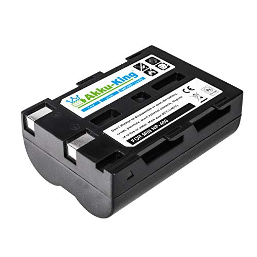 Akku-King Akku kompatibel mit Minolta SLB-1674, NP-400, D-Li50, BP-21 - Li-Ion 1600mAh - für NP-400, Konica a-5, Sigma SD14