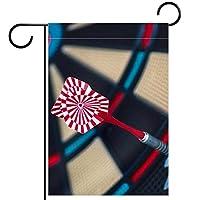 ガーデンヤードフラッグ両面 /12x18in/ ポリエステルウェルカムハウス旗バナー,抽象的な正確な目的
