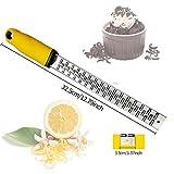 Zoom IMG-1 tonsooze zester limone grattugia manuale