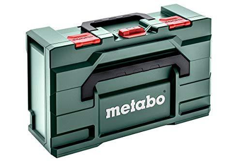 Metabo Werkzeugkoffer leer Metabox 165 L für Winkelschleifer (Koffer aus ABS, ohne Werkzeug, stapelbar, robust und bruchsicher, 496x296x165 mm, Volumen 16.7 l) 626890000