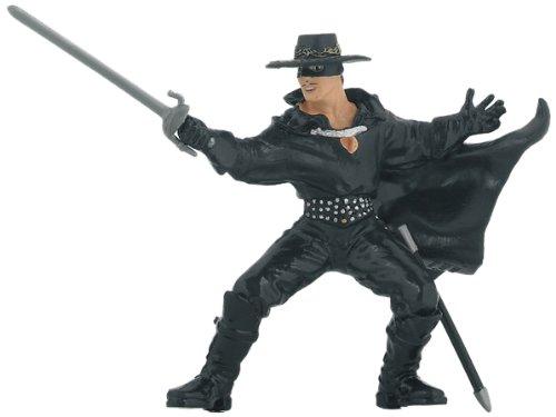 Zorro con Spada Soldatini Papo 12 cm Dipinto a Mano