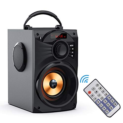 Portable Bluetooth Speaker Subwoofer Heavy Bass Wireless Outdoor/Indoor Party Speaker