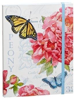 "English Garden Bound Lined Flexi Journal (6""x8"")"