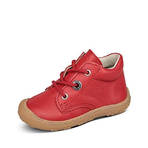 RICOSTA Pepino Mädchen Stiefel Cory, WMS: Mittel, Freizeit Boots schnürstiefel Leder Kind-er Kids junior Kleinkind-er,Fuchsia,22 EU / 5.5 UK