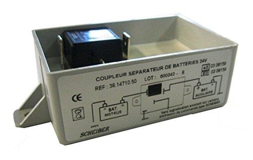 Repartidor carga electrica batería 24v-70a Scheiber