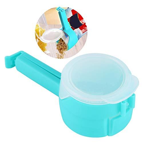 Food Clip Clamshell Top portátil para el hogar para cocina a estrenar(blue)