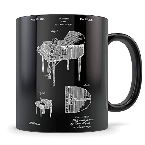 NA Regalo de Piano, Taza de Piano, Regalo de Piano para Homb