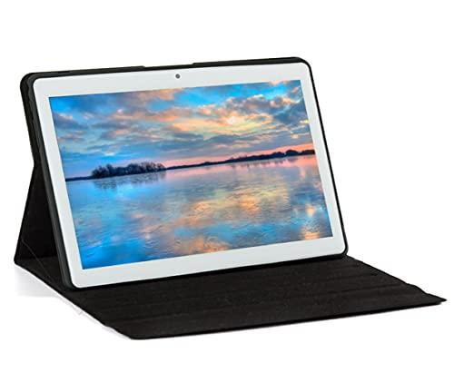 Tablet 10 Zoll, Android 10,Tablet PC mit Quad-Core-CPU, 4 GB RAM, 64 GB ROM, IPS HD Bildschirm(1280x800), Type C, WiFi/GPS/Bluetooth 4.0. (Silber)