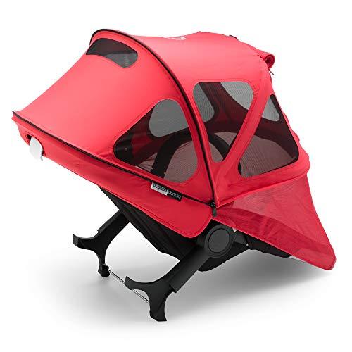 Bugaboo - Tenda parasole Donkey Breezy, colore: Rosso fluo