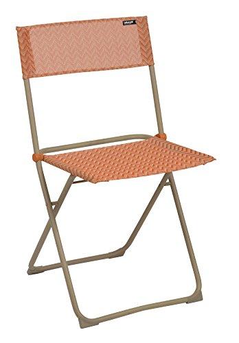 Lafuma lfm2602 – 7232 Anytime stoel compact inklapbaar kaneel 48 x 47,5 x 85 cm