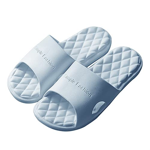 LDH Chanclas Hombre de Unisex, para Mujer Summer Sole Sole Beach Zapatos Casuales Hombres y Mujeres Inicio Casa Piscina Piscina Slipper Pareja Zapatillas (Color : C, Size : 38-39)