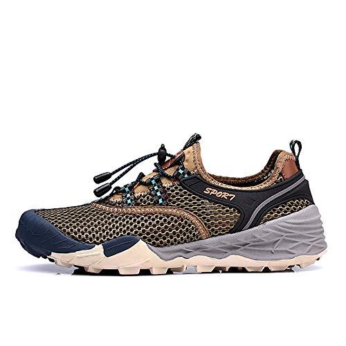 Gengyouyuan mesh-schoenen voor heren, ademend, wandelschoenen buitenshuis, wandelschoenen, van antislip mesh.