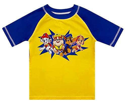 Boys' Paw Patrol Rash Guard Rashguard Swim Shirt 4