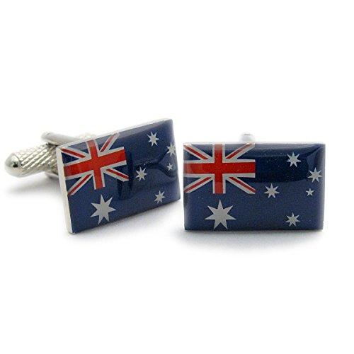 Boutons de manchette Homme Fantaisie – Drapeau Australien