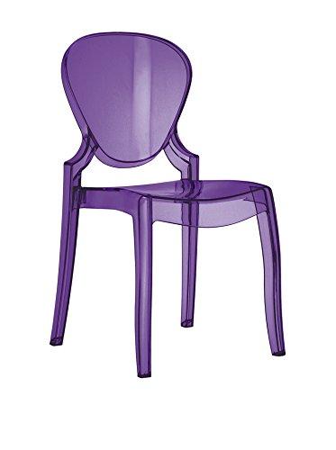 Pedrali Set 4-teilig Stuhl Queen 650