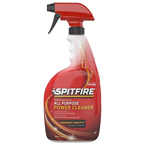 Diversey CBD540038 Spitfire Professional All Purpose Power, 32 Ounce Capped Spray Bottle (4 Pack)