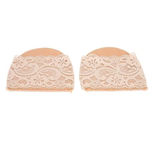 Manga del antepié, zapatos de tacón alto Manga del antepié Fuerte y resistente Cómoda de llevar en casa(No 4 piel de encaje)