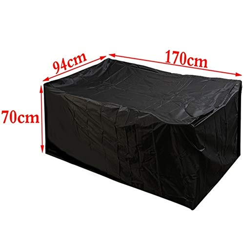 FYZS Outdoor Garden Furniture Rain Cover Waterproof Oxford Wicker Sofa Protection Set Garden Patio Rain Snow Dustproof Covers - 4 Size (Color : B3)