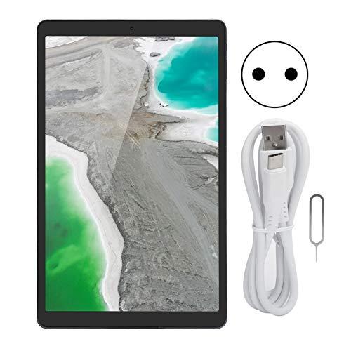 Tableta A55 de 8 núcleos y 10 Pulgadas, 1200 x 1920, 6000 Mah, 8 GB de RAM ROM de 128 GB, WiFi de Banda Dual 2.4G + 5G, Tabletas con Ranura para Tarjeta SIM para Android10.0(Enchufe de la UE)
