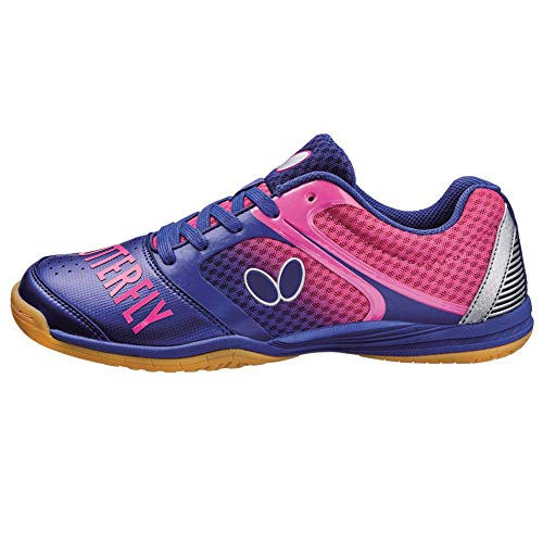 Best Review Of Butterfly Table Tennis Shoes - Groovy - Black, Blue, Navy, Pink, or White - Sizes 4.5...