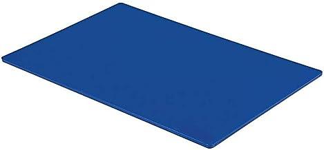 Tabla de cortar profesional, grande, para catering, preparación de alimentos, color azul