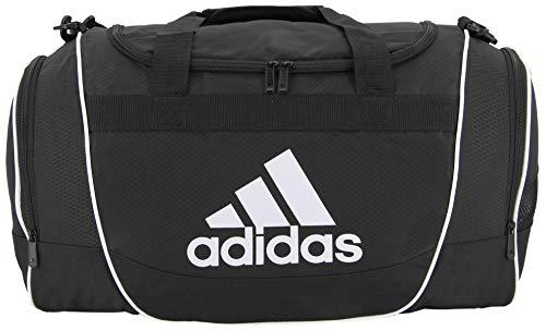 adidas Unisex Defender II Large Duffel Bag, Black, ONE SIZE