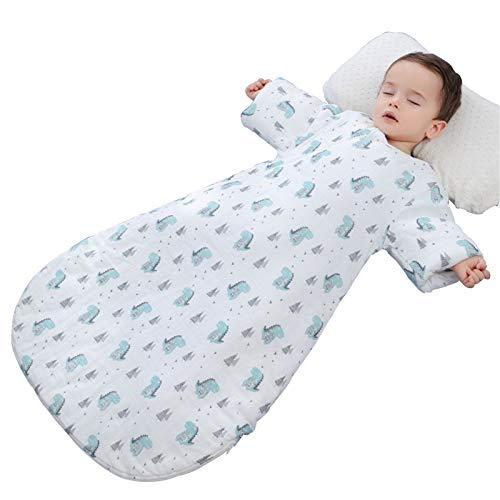 LUO Sacos de Dormir Bolso de Dormir Integrado for bebés, Colcha Anti-Patada for recién Nacidos, Espacio Grande en 3D, Colcha sostenida Multifuncional for bebés Unisex