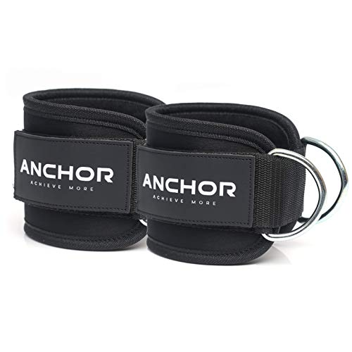 Ankle Straps for Cable Machines- Ankle Cuff For Leg Workout Cable Pulley Equipment Machine- Cable Straps For Men And Women