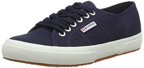 Superga 2750 Cotu Classic, Unisex-Erwachsene Sneaker, Blau (Navy-White F43), 39 EU (5.5 UK)