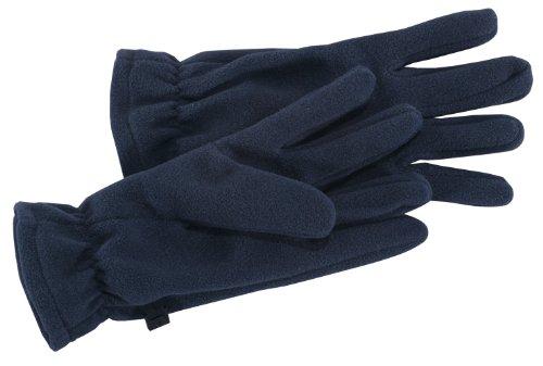 Port Authority Fleece Gloves, Navy, L XL