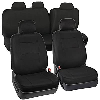 Bench Option Cloth Seat Covers - Black